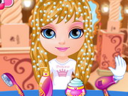 Baby Barbie Disney Hair Salon Game 2 Play Online