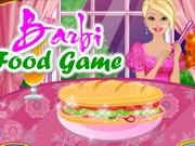 Barbi Food Game