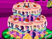 Barbie Popstar Cake