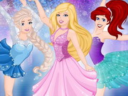 Barbie Skating With Princesses