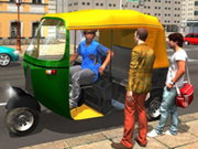 City Tuk Tuk Rickshaw: Chingchi Simulator Game