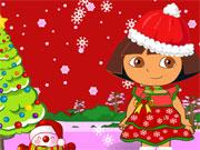 Öltöztesd Dórát karácsonyi díszbe