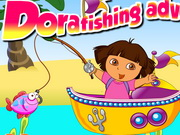 Dora Fishing Adventure Games