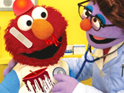 Elmo Visiting The Doctor