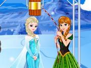 Play Elsa's Ice Bucket Challenge