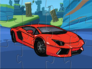 Lamborghini Aventador Cartoon