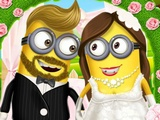 Minion Girl Wedding Party
