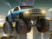 Monster Truck Arena Stunts