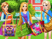 Princess Disney College Bag