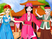 Princesses Chinese Folk Dance