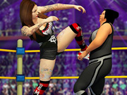Real Women Wrestling Ring Fighting