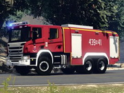 Scania Fire Truck Jigsaw
