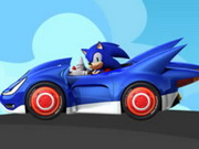 Sonic Fast Car Puzzle