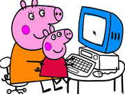Peppa Pig Coloring Book - Game 2 Play Online