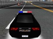 Rendőr 3D autó