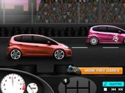 Modern autó verseny